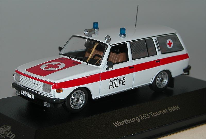 ccc091 wartburg 353 tourist smh ambulanz cars co ixo. Black Bedroom Furniture Sets. Home Design Ideas